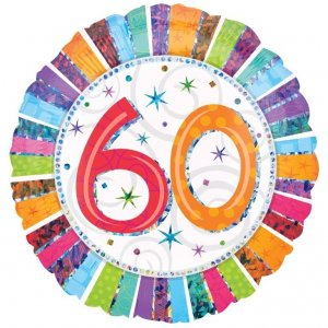 60 and over Birthday