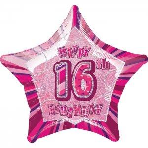 16th-birthday-balloon-helium-foil