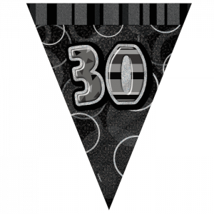 30th-bunting-black