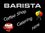 Barista Coffee logo Haslemere for Catering and Hire