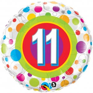 11th-Birthday-Balloon