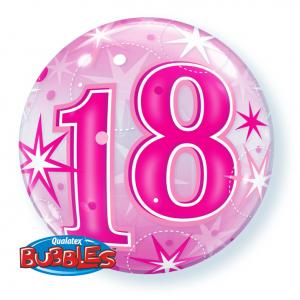 18th-Birthday-Pink-Bubble-Balloon