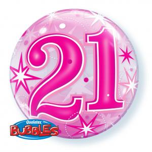 21st-Birthday-Pink-Bubble-Balloon