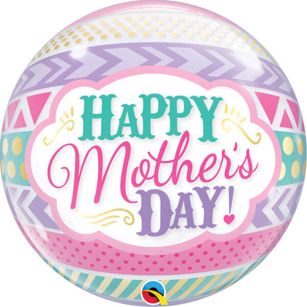 Home balloons mothers day balloon happy mothers day bubble