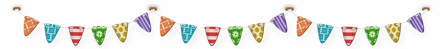 Hokey Cokey Party Shop Bunting