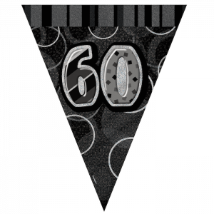 60th-birthday-bunting-black