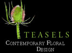 Teasels flower arrangements and design