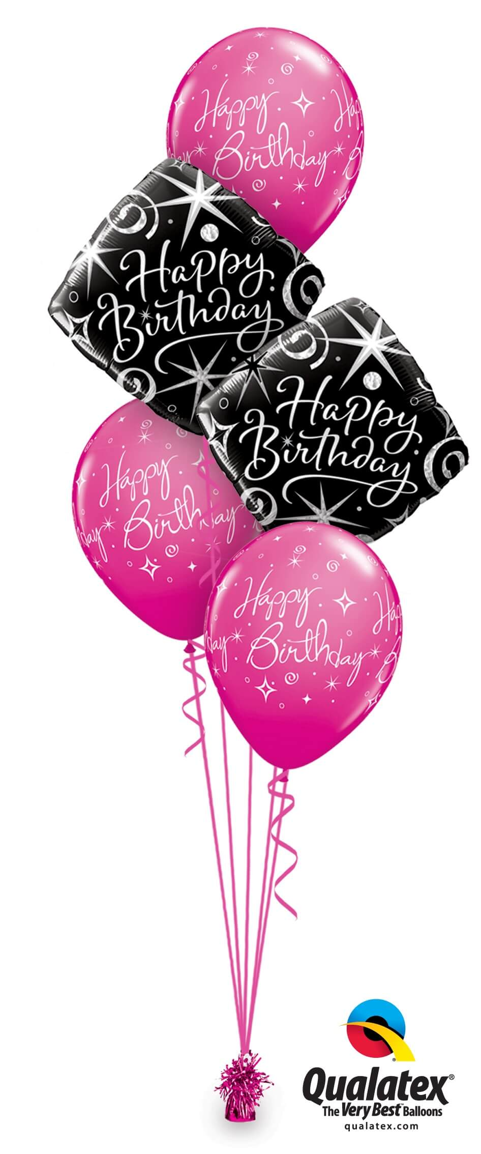 Elegant Birthday Bouquet Hokey Cokey Party Shop