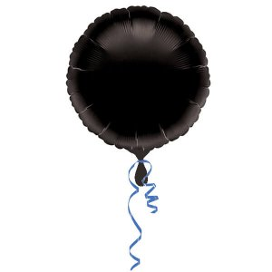 Black-Foil-Circle-Balloon