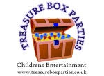 Treasure Box Parties website